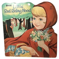 1967 Die Cut Little Red Riding Hood