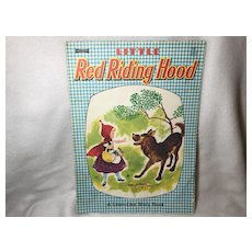 Gingham Linen Finish Little Red Riding Hood