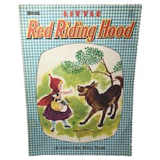 Gingham Linen Finish Little Red Riding Hood