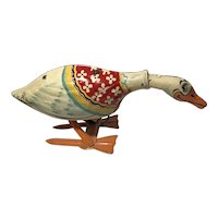 Galloping Gertie Tin Wind-up Toy