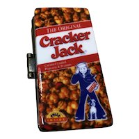 Porcelain Cracker Jack Trinket Box