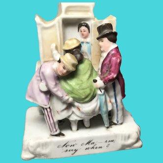 1870-1880 Victorian Fairing:  Now Ma'rm, Say When