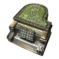 Metal Grand Piano Music Box