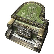 Metal Grand Piano Music Box
