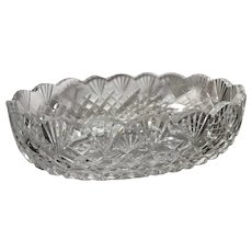 Waterford Oval Emily Scalloped Bowl