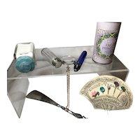 Assortment of Travel Vanity Items