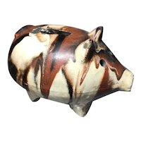Ironstone Piggy Bank
