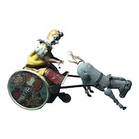 Balky Donkey Clown Cart by Lehman