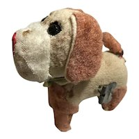 Tan & Beige Windup Dog