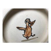 Zona Weller Dancing Duck Baby Dish