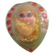 Mattel Jewelry Kiddles Ring Doll