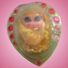 Mattel Jewelry Kiddles Ring Doll
