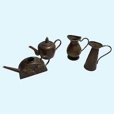 Miniature Copper Vessels