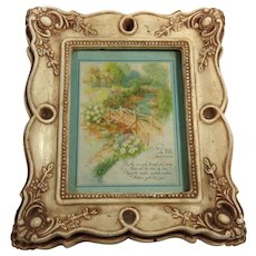 Mother's Poem in Ornate Molded Frame