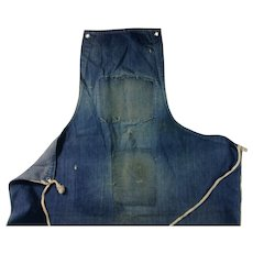 Pot Shop Work Apron 1950