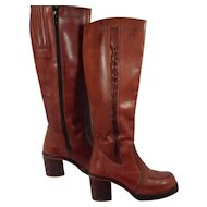 Brazilian Leather Boots Ladies