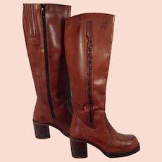 Brazilian Leather Boots Ladies