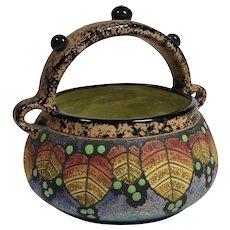 Czech BFS Porcelain Basket