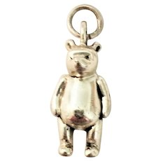 Disney Winnie the Pooh Limited Edition Sterling Silver Charm RARE