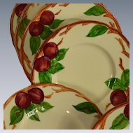 Set of 6 Franciscan Ware Apple Motif Bread & Butter Plates #2