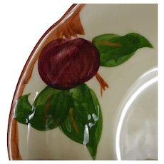 Set of 4 Franciscan Ware Apple Motif Cereal Bowls #1