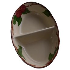 Franciscan Apple Divided Serving Bowl