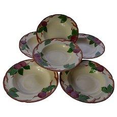Franciscan Apple Soup Bowls Set of 6
