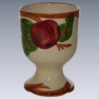Franciscan Apple Egg Cup
