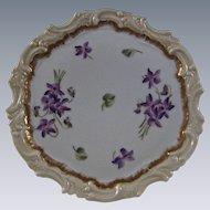 Limoges Tressemann & Vogt Tea Trivet Tile Circa 1892-1907