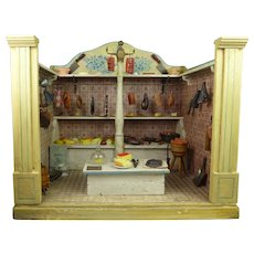 Exceptional antique Butcher Shop, Moritz Gottschalk – Provenance- 1880