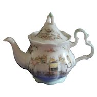 Royal Doulton Miniature Brambly Hedge 3 Piece Tea Set