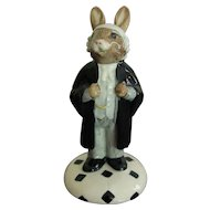 Royal Doulton Lawyer Bunnykins Figurine
