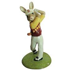 Royal Doulton Bunnykins Golfer Bunnykins
