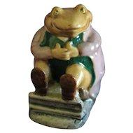 Beatrix Potter Figurine Mr. Jackson BP3c