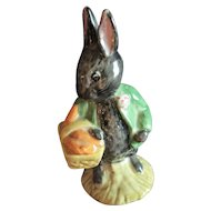 Beatrix Potter Figurine Little Black Rabbit