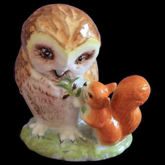 Beatrix Potter Old Mr. Brown Figurine BP-3b