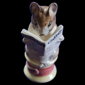 Beatrix Potter Tailor of Gloucester Figurine BP-4