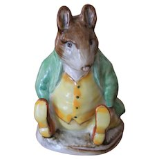 Beatrix Potter Figurine Samuel Whiskers BP3b