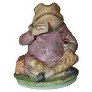 Beatrix Potter Jeremy Fisher Figurine