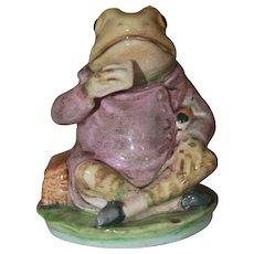 Beatrix Potter Jeremy Fisher Figurine