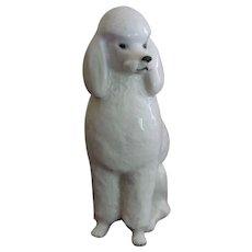 Lomonosov Poodle Figurine