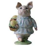 Beatrix Potter Little Pig Robinson Figurine