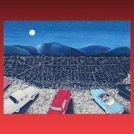 LINNEA PERGOLA, Listed, Mulholland Drive, S/N Lithograph