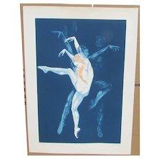 G.H. ROTHE Listed Dance Bijart II S/N 129/200 Mezzotint