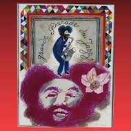 THEO TOBIASSE,  Grande Parade du Jazz, Circa 1975, Lithograph 8/150