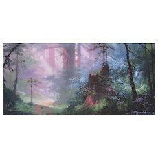 JAMES COLEMAN Listed Misty Morning Cibachrome Ed of 250 Compare at $2300