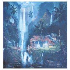 JAMES COLEMAN, Listed Disney Artist, Peaceful Rhythms, S/N Lithograph