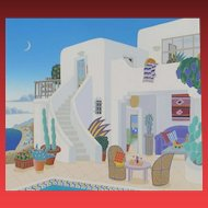 Thomas Mcknight, Malibu, 1993, S/N screenprint, purchased for $969.75