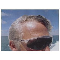 BILL OWENS, Digital C Print,  Passenger on Boat to Nantucket, Rhode Island