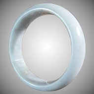 Natural Soft Green, Jadeite Bangle